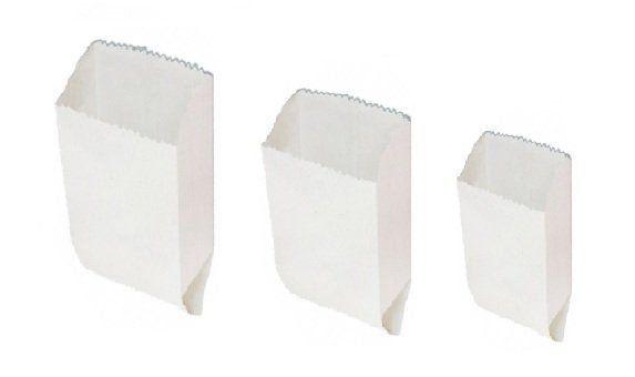 Saco Kraft Branco Pastel 2 kg C/500