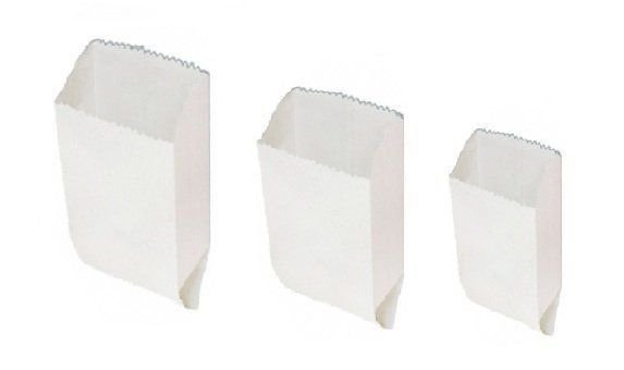 Saco Kraft Branco Pastel 3 kg C/500