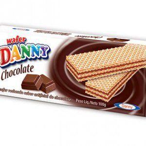 Biscoito Wafer Danny CX C/50 - Sabores