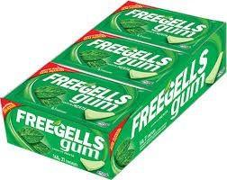 Chiclete Freegells Gum C/21 Uni - Sabores