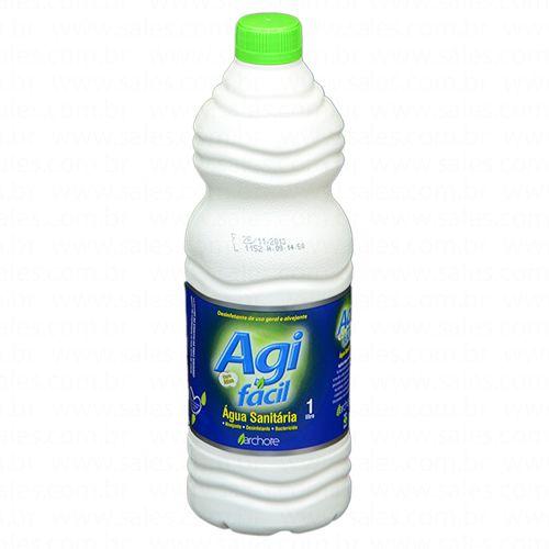 Água Sanitária Agifácil 1l CX C/12