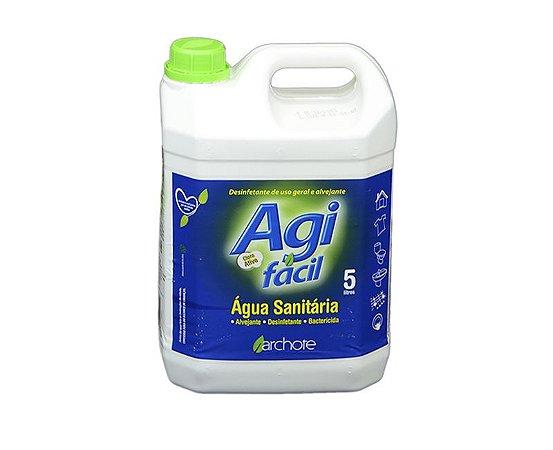 Água Sanitária Agifácil 5L