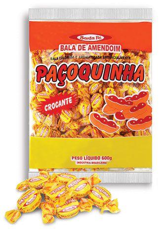 Bala Sta Fé Amendoim  Crocante 500gr