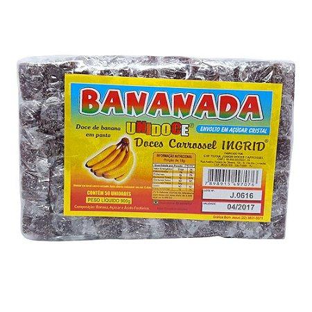 Bananada 800gr  Pct C/50 - Sabores