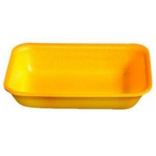 Bandeja Isopor Amarela Darnel C/100 - Tamanhos