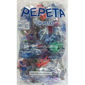 Chupeta Pepeta Borboleta Redonda Silicone C/25