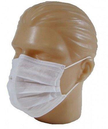Mascara Cirúrgica Branca C/100