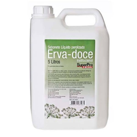 Sabonete Líquido  Perolado Erva Doce 5L