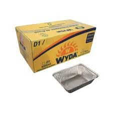EMBALAGEM RETANGULAR D-1 850ML WYDA C/100