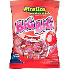 Pirulito Big Big C/50 - Sabores