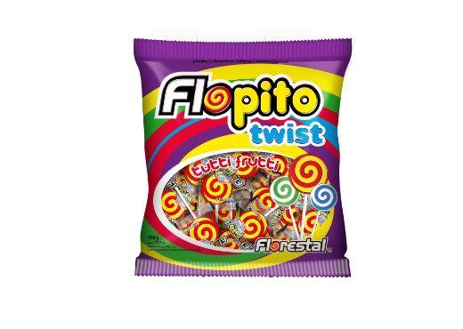 Pirulito Flopito Twist 450gr