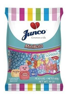 Mini Bala Junco 60gr - Sabores