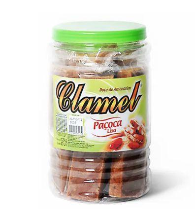 Paçoca Lisa Clamel 1,2 Kg C/20