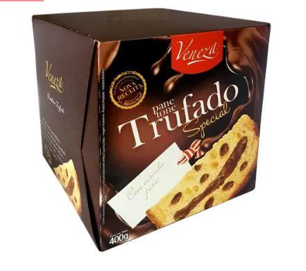 Panetone Veneza Luxo Chocolate Trufado 400gr