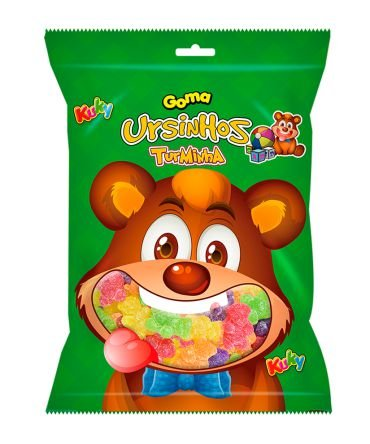 Goma Turminha Urso Kuky 500g