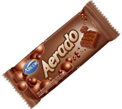 Chocolate Aerado Arcor 30g C/15