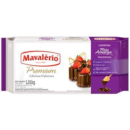 Cobertura Mavalerio Premium Chocolate Meio Amargo 1,010 Kg