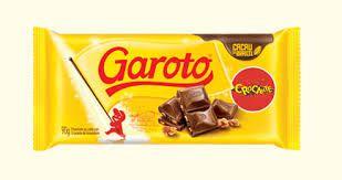 Chocolate Garoto Crocante 100g C/14