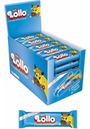 Chocolate Lollo  Nestlé 28g C/ 30