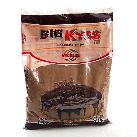 Big Kyss Chocolate Em Pó 1kg