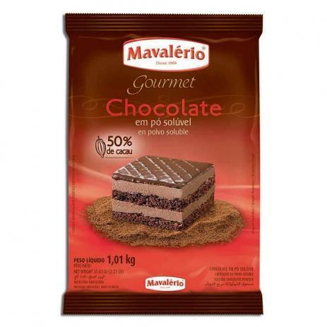 Chocolate em Pó Mavalerio 50% Cacau 1 Kg