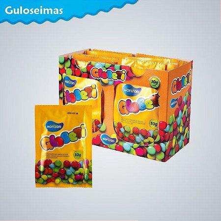 Pastilhas Globeti Sachê Chocolate10g C/24