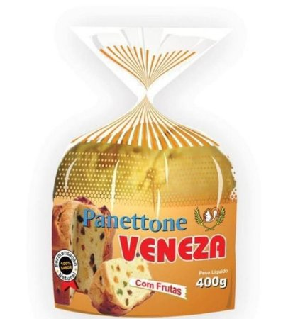 Panetone Veneza Poli Frutas 400g