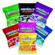 Bala Freegells 584gr - Sabores