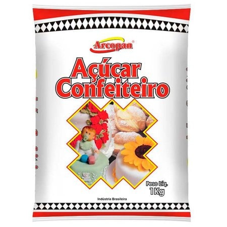 Açúcar de Confeiteiro Arcopan 1kg