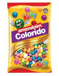 Amendoim Colorido Kuky 500g