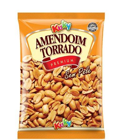 Amendoim Torrado Sem Pele com Sal Kuky 1,005 Kg