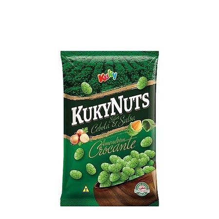 Amendoim Crocante Cebolas e Salsa Kuky 500g