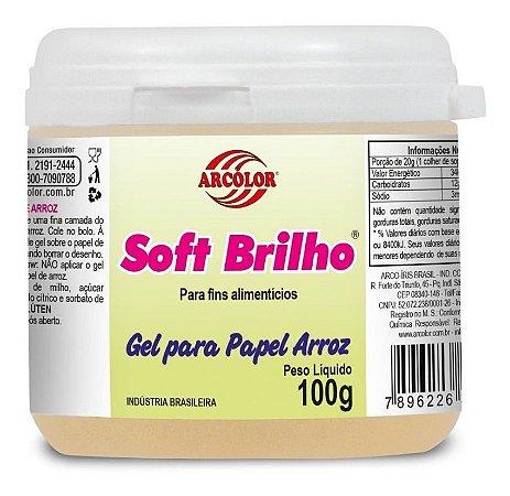 Gel Para Papel Arroz Soft Brilho 100g