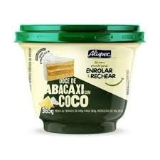 Doce Abacaxi C/ Coco Alispec  365g