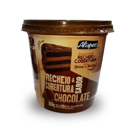 Recheio e Cobertura Chocolate Alispec 380g