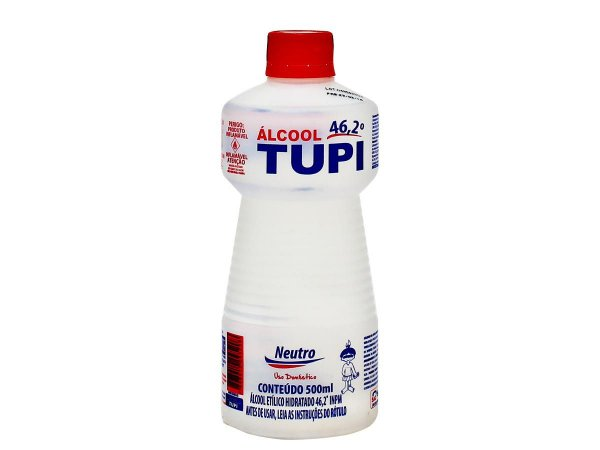 Álcool Líquido Neutro Tupi  500ml