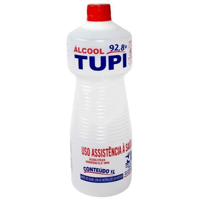 Álcool Líquido Tupi 92,8  1L