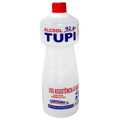 Álcool Líquido Neutro 92,8 Tupi 1L Cx C/12