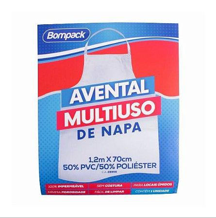 Avental de Napa Bompack Branco 120x70