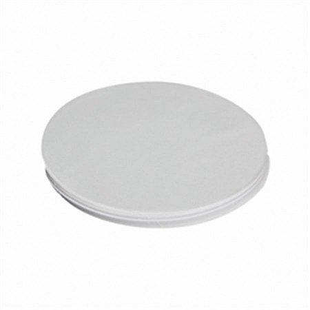 Disco de Isopor 20cm Darnel Branco C/100