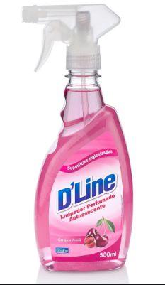 Limpador Perfumado Aromas D'Line 500ml