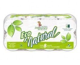 Papel Higiênico Primavera Eco Natural 30m C/8 Rolos