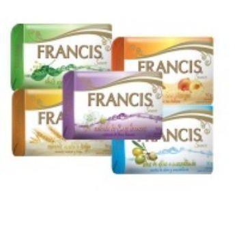 Sabonete Francis  Óleos Florais Pct C/12