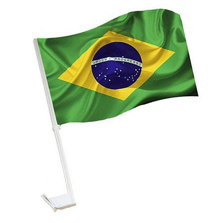 Bandeira do Brasil C/ Haste Iluminada