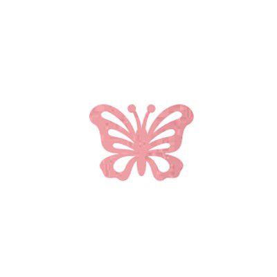 Painel Borboleta Glitter 3D P Cores C/3