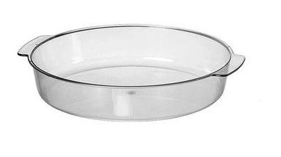 Travessa Cristal Oval 220x330mm Uni