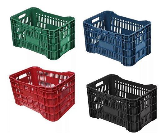 Caixa Plástica  Cores Uni
