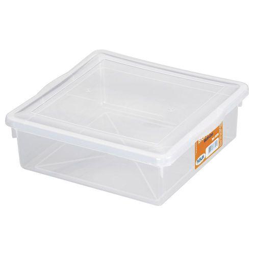 Caixa Organizadora Branca Quadrada 11,5L