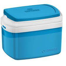 Caixa Térmica Tropical 5L Azul