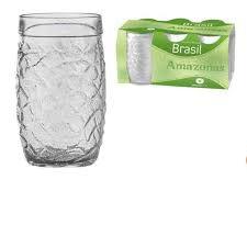 Jogo Copo De Vidro Amazonas C/6 310ml